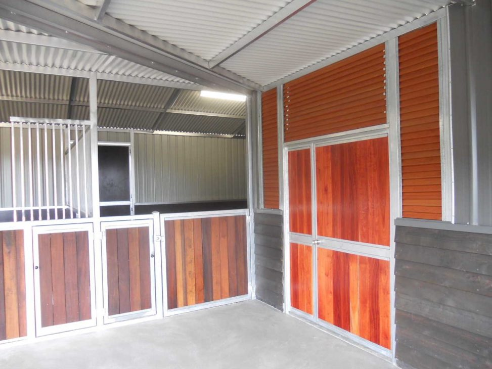 Wood Feed door with louvers for ventilation top and sides