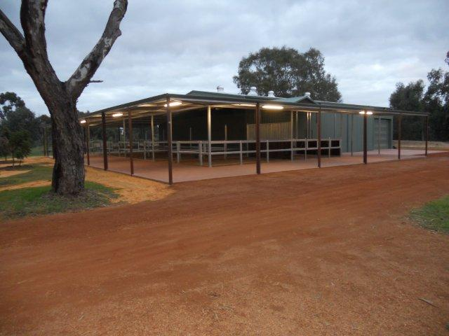 Stables open with steel yards