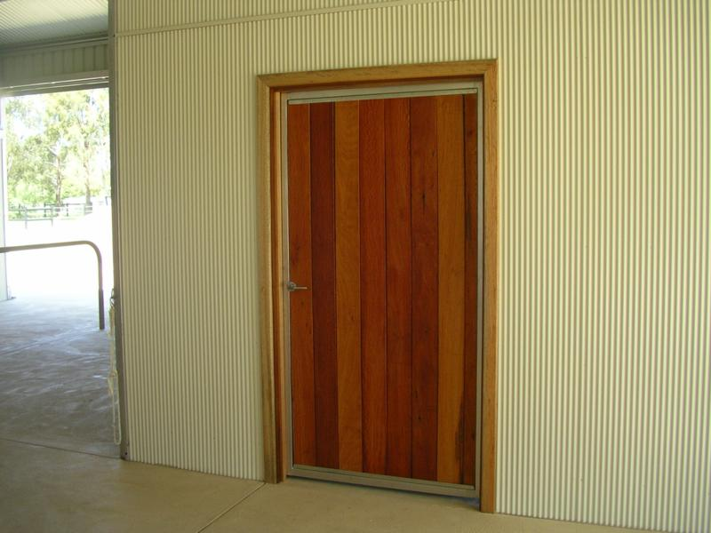 Personal Sheoak door, Mini orb wall